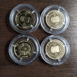 2 гривны.Золото (4 шт.) Украина., фото №4