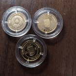 2 гривны.Золото.3 штуки., фото №4