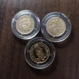 2 гривны.Золото.3 штуки., фото №2