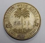 2 шиллинга, 1936 г Британская Африка, фото №2