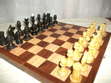 Шахматы дерево ссср, фото №3