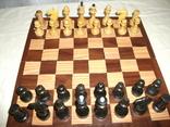 Шахматы дерево ссср, фото №4