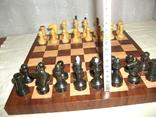 Шахматы дерево ссср, фото №6