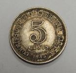 5 центов, 1945 г Британская Малая, фото №2