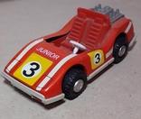 Инерционная спортивная машинка JUNIOR СССР длина 11 см., фото №2