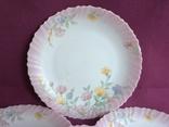 Тарелки плоские столовые Весенние цветы. Arcopal France., фото №4