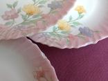 Тарелки плоские столовые Весенние цветы. Arcopal France., фото №6