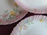 Тарелки плоские столовые Весенние цветы. Arcopal France., фото №7