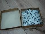 Ключи гаечные 12 х 14 в коробке 22 шт., фото №5