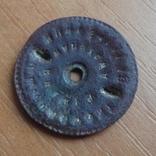 Оригинальная зажимная гайка для полкового значка Вторая Республики Польши, фото №4