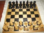 Шахматы ссср дерево, фото №2