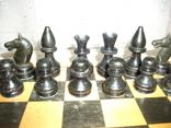Шахматы ссср дерево, фото №3