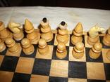 Шахматы ссср дерево, фото №4