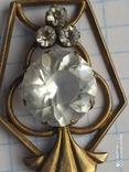 Подвеска, кулон серебро 875 проба, фото №2