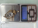 Подвеска, кулон серебро 875 проба, фото №9
