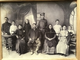 1917 Старое фото Семья, фото №4