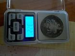 1 дукатон /срібний вершник/ 1760 р. 32,27 грам срібла900 Голандія -копія, фото №5