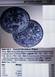 1 дукатон /срібний вершник/ 1760 р. 32,27 грам срібла900 Голандія -копія, фото №7