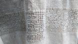 Старинная вышиванка с выкалыванием узора на полотне, фото №7