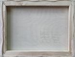 Картина, Пионы и черешня, 30х40 см. Живопись на холсте, фото №6