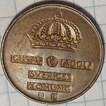 Швеция 5 оре 1962, фото №3