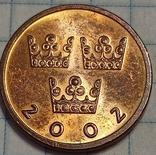 Швеция 50 оре 2002, фото №2