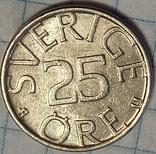 Швеция 25 оре 1980, фото №3