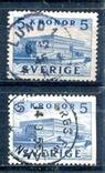 Швеція різновид по сторонам зубц., фото №2