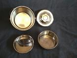 Термос пищевой с лотками 1.1 литра Нерж Нержавейка Нержавеющая сталь, фото №5