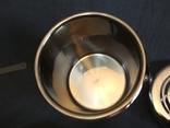 Термос пищевой с лотками 1.1 литра Нерж Нержавейка Нержавеющая сталь, фото №6