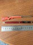 Ручка с часами и ручка ружье, фото №2