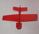 Игрушка СССР пластмассовый планёр, фото №3