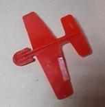 Игрушка СССР пластмассовый планёр, фото №2