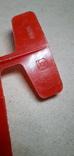 Игрушка СССР пластмассовый планёр, фото №4