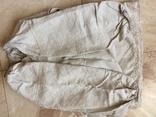 Сорочка из домотканого полотна - вышивка белым, фото №9