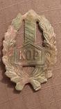 Знак Польского корпуса охраны пограничья (KOP), фото №5