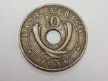 10 центов, 1936 г Британская Африка, фото №2
