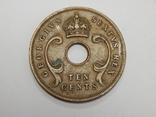 10 центов, 1952 г Британская Африка, фото №3