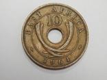 10 центов, 1964 г Британская Африка, фото №2