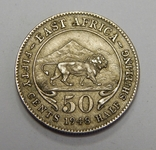 50 центов, 1948 г Британская Африка, фото №2