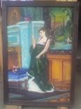 Старинная картина. китч. 50-60гг, фото №4