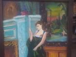 Старинная картина. китч. 50-60гг, фото №6