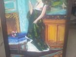 Старинная картина. китч. 50-60гг, фото №7