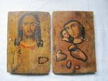 Иконы подокладные. 2 штуки., фото №2