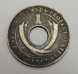 1 цент, 1912 г Британская Уганда, фото №2