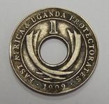 1 цент, 1909 г Британская Уганда, фото №2