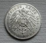 5 марок 1914 г. Пруссия, серебро, фото №2