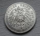 5 марок 1914 г. Пруссия, серебро, фото №5