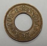 1 пайса, 1943 г Индия, фото №2