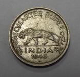 1/4 рупии, 1946 г Индия, фото №2